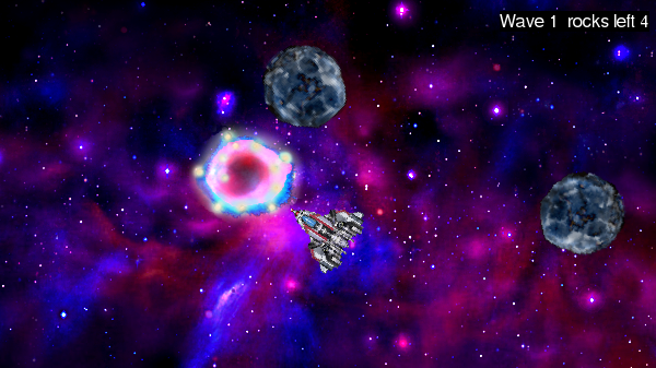 Yet Another Space Shooter in all its derivative glory